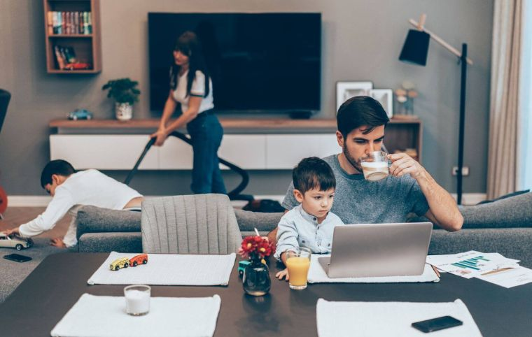 Cómo ser más productivo -trabajas-casa