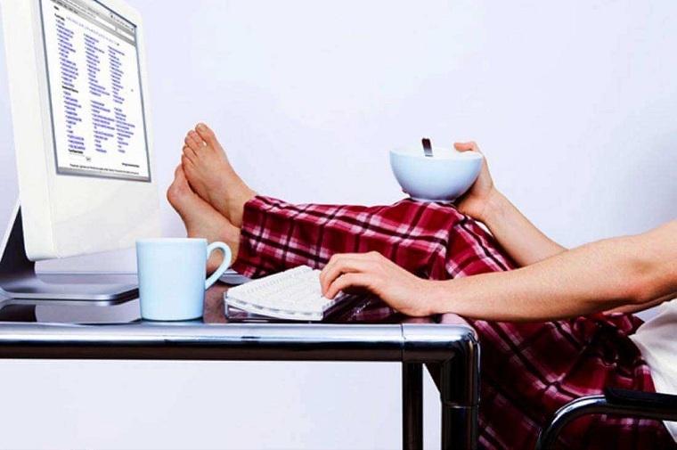 Cómo trabajar desde casa -dificil