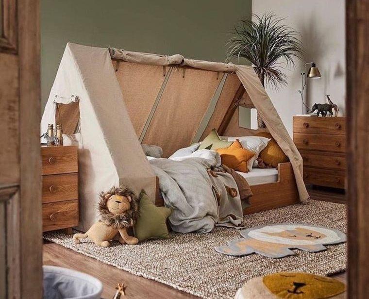 decoración dormitorios infantiles acogedores