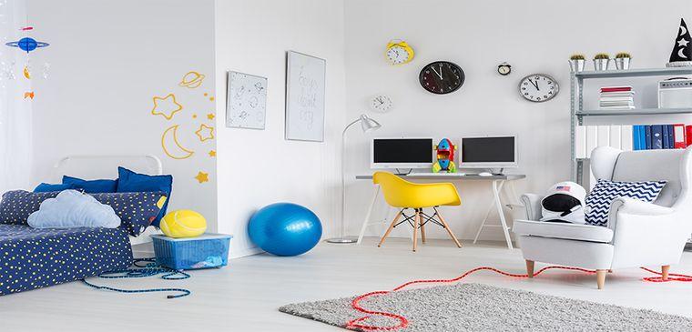 decoración dormitorios infantiles amplios