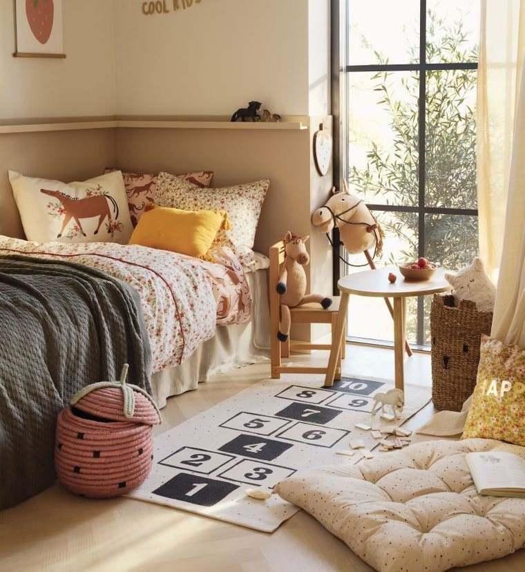 decoración dormitorios infantiles comodos