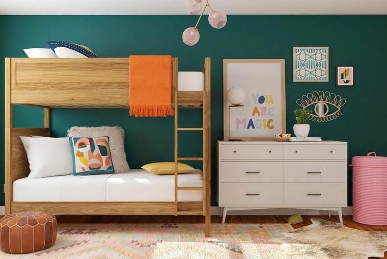 decoración dormitorios infantiles cuadros pared