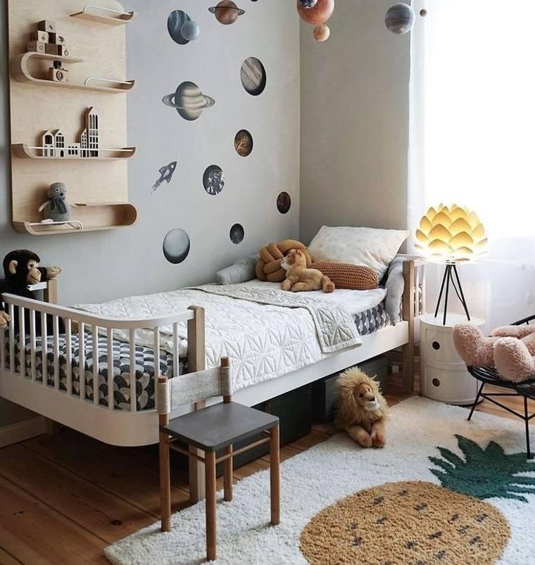 decoración dormitorios infantiles divertidos