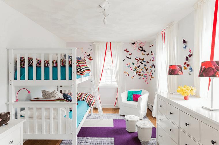 decoración dormitorios infantiles moderno