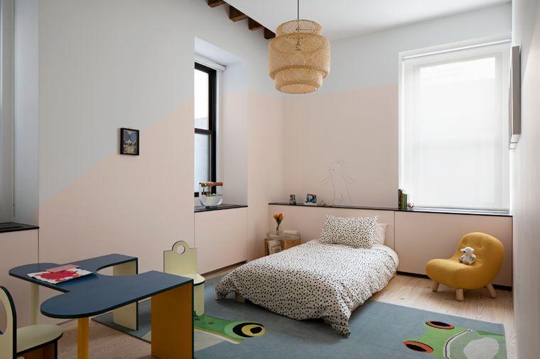 decoración dormitorios infantiles muebles pequeños