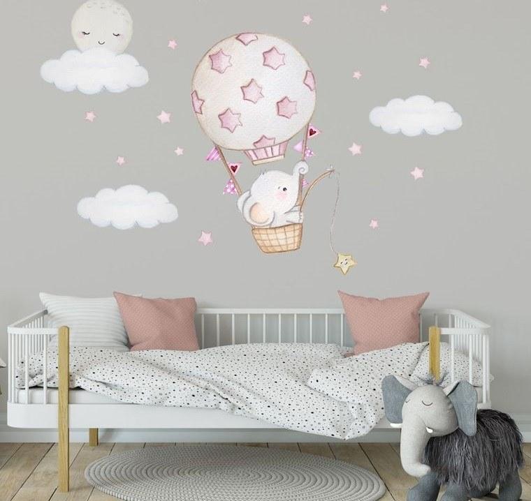 decoración dormitorios infantiles paredes
