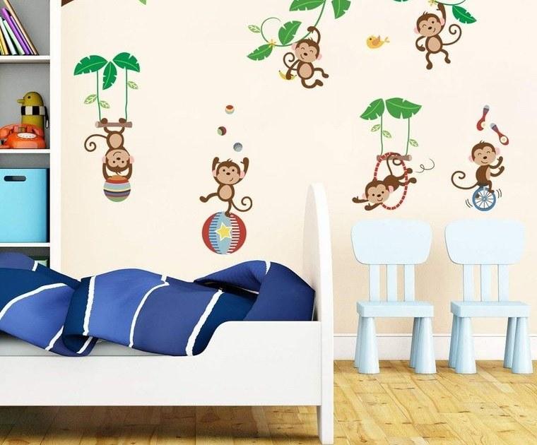 decoración dormitorios infantiles pegatinas