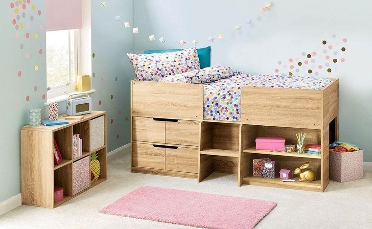 decoración dormitorios infantiles pequeños