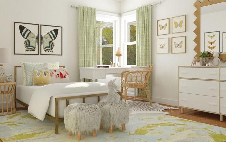 decoración dormitorios infantiles sutiles