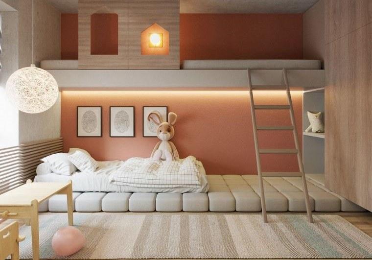 Decoración dormitorios infantiles de manera sencilla y económica