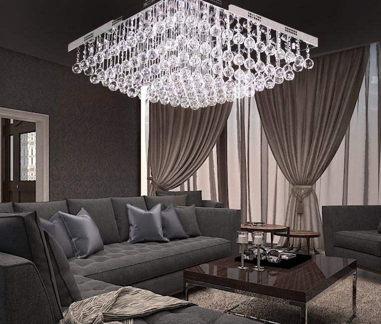 decoración moderna lampara elegante