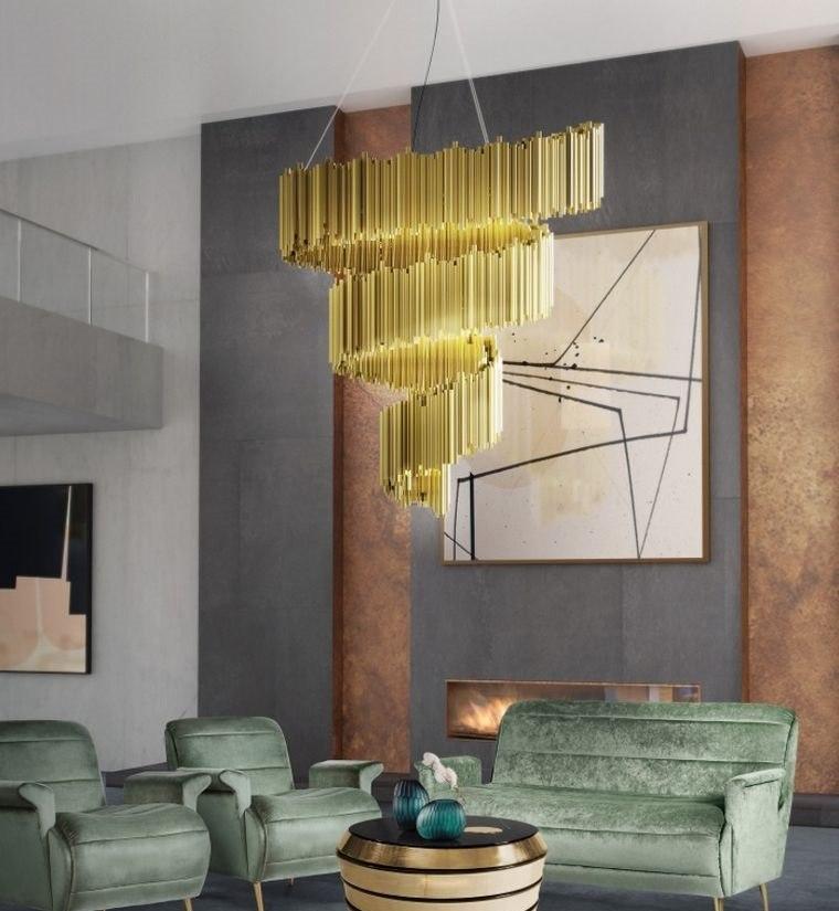 decoración moderna luces