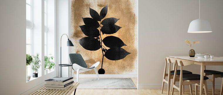 decoración moderna muebles naturales
