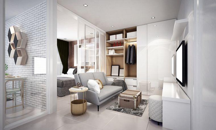 decoración moderna pequeño espacio