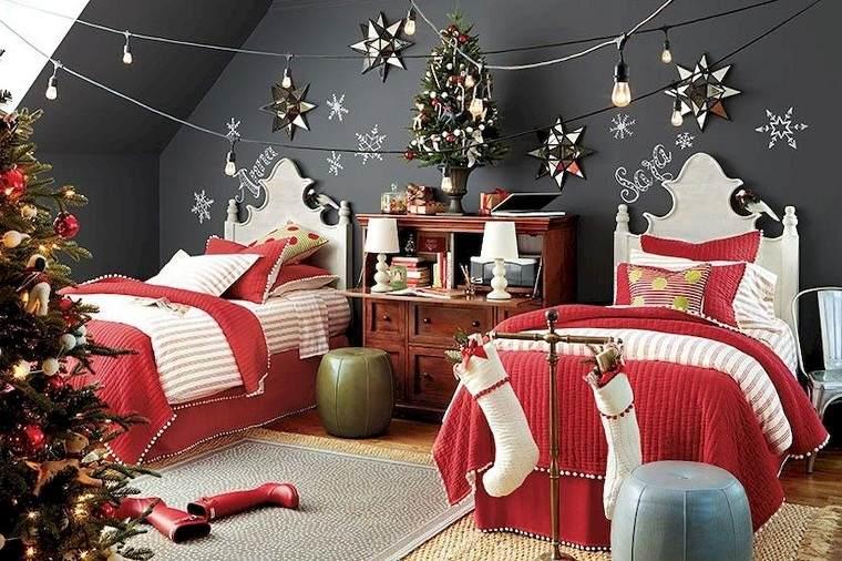 decoracion-navidad-arbol-decorar-dormitorio