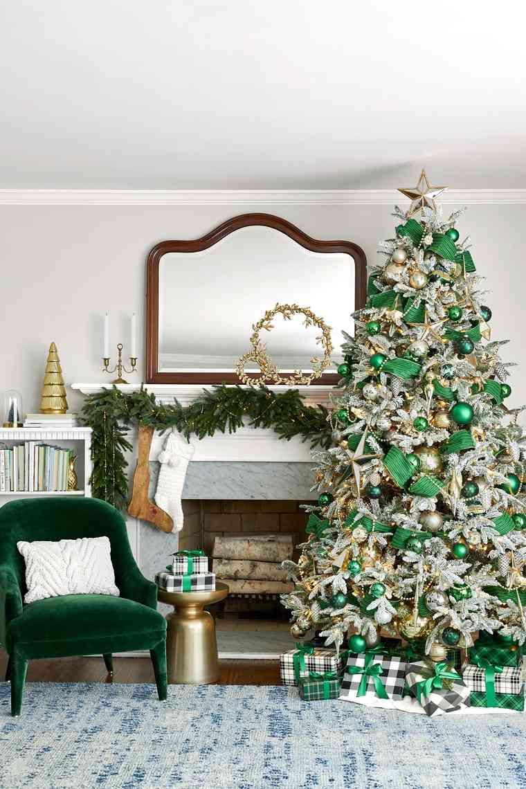 decoracion-navidena-verde-2020