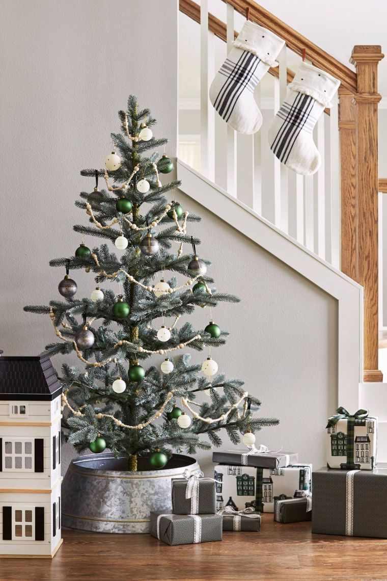 decoracion-negro-verde-blanco