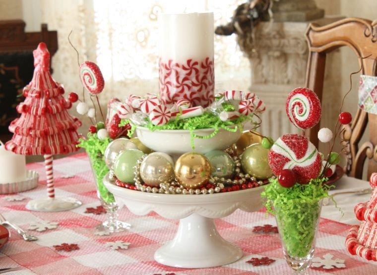 decoración original bolas caramelos