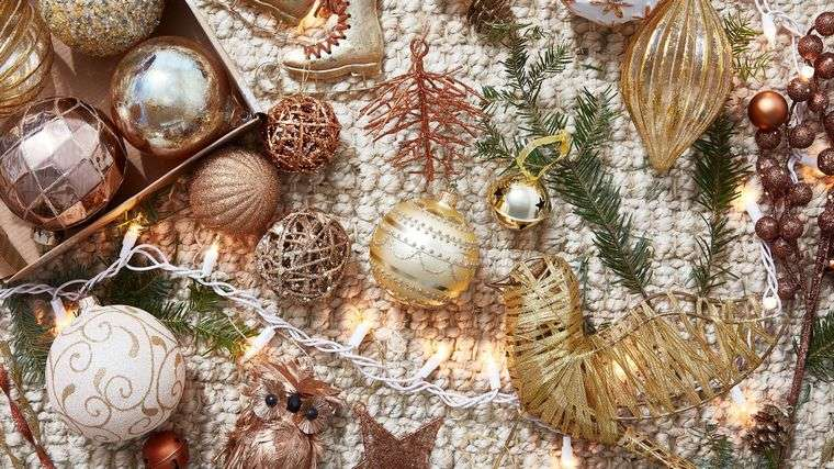 decoración original bolas de navidad