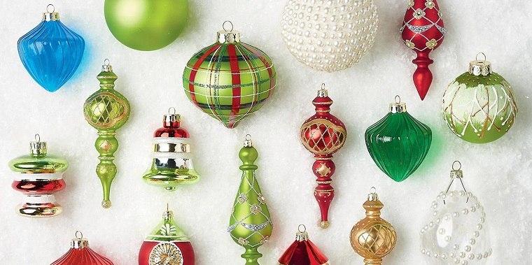 decoración original bolas navideñas