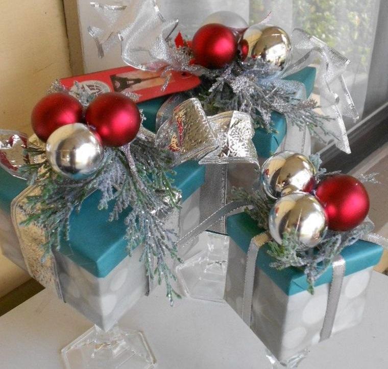 decoración original cajas de regalo