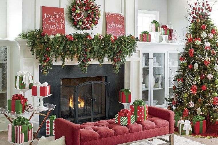 decoración original navideña hogar