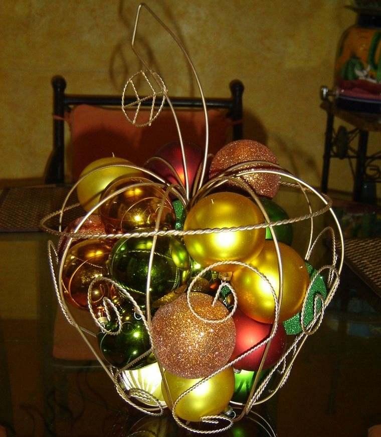 decoración original navideña