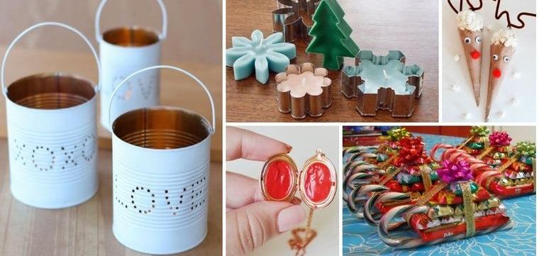 Detalles navideños de bricolaje para regalar esta temporada