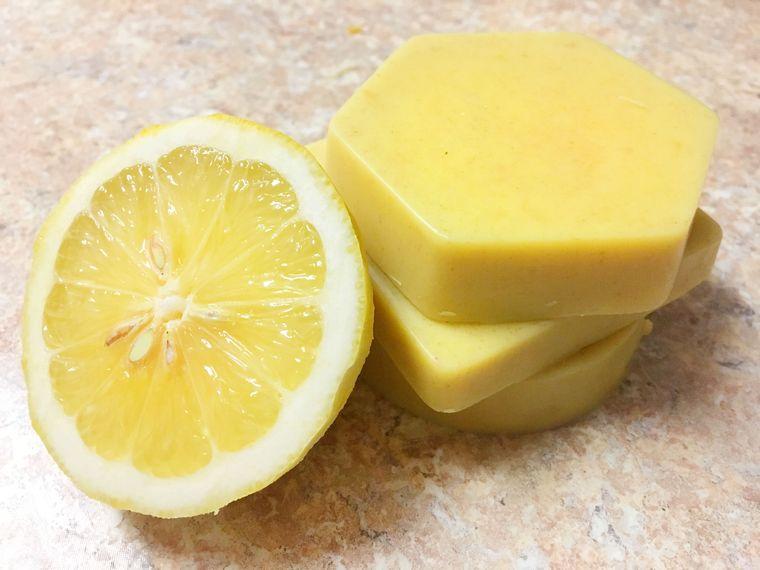 detalles navideños bricolaje jabones limon