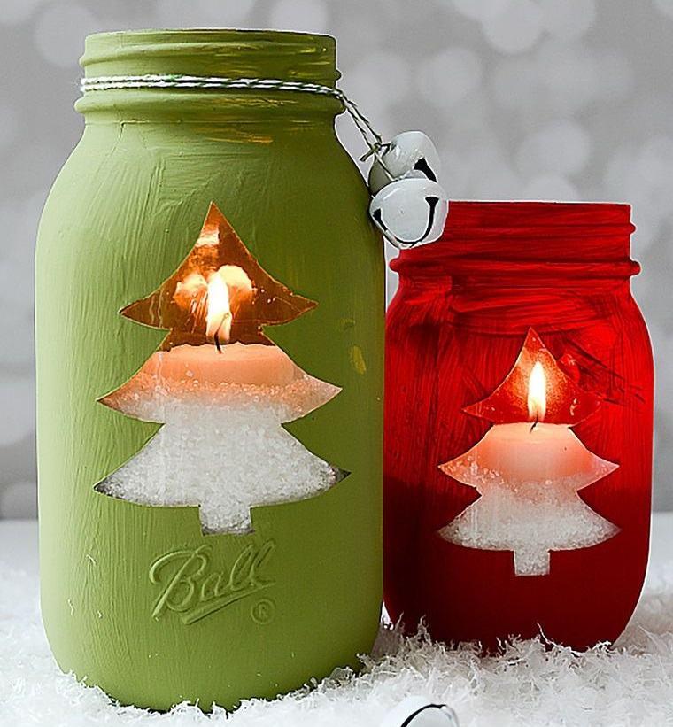 detalles navideños bricolaje votivos obsequio