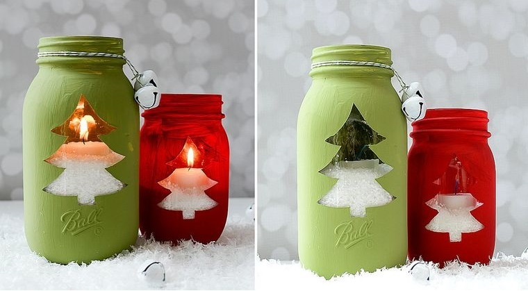 detalles navideños bricolaje votivos