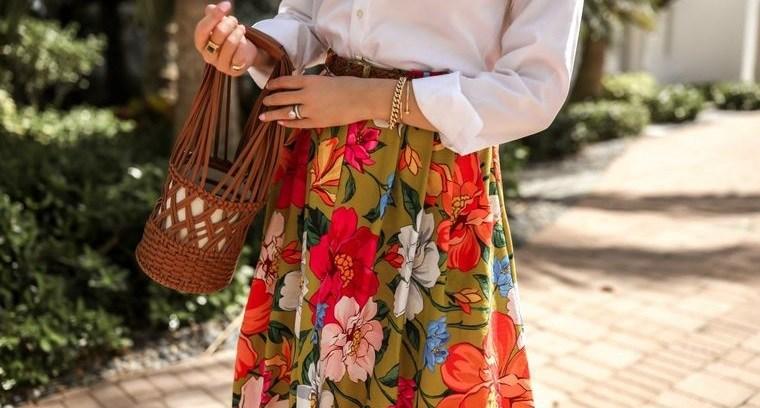 diseño floral casual