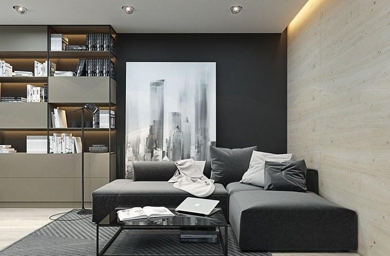 diseno-espacios-pequenos-negro-gris