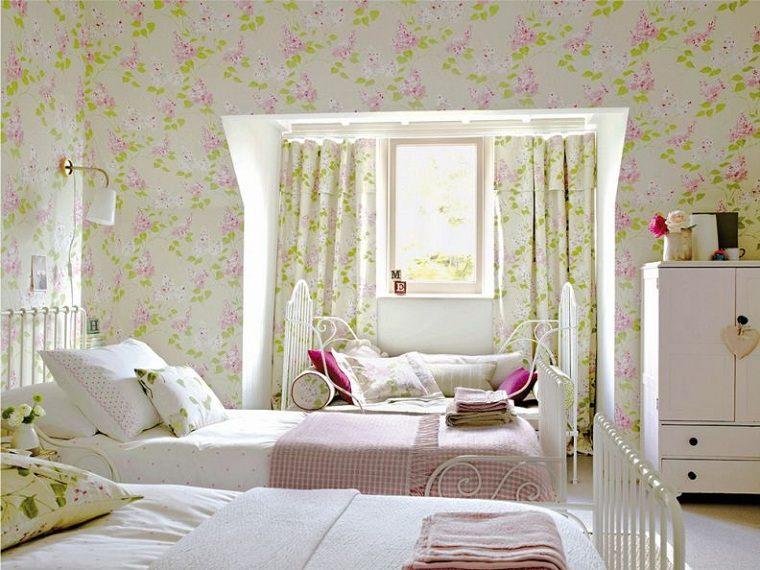 dormitorio-infantil-diseno-papel-pared
