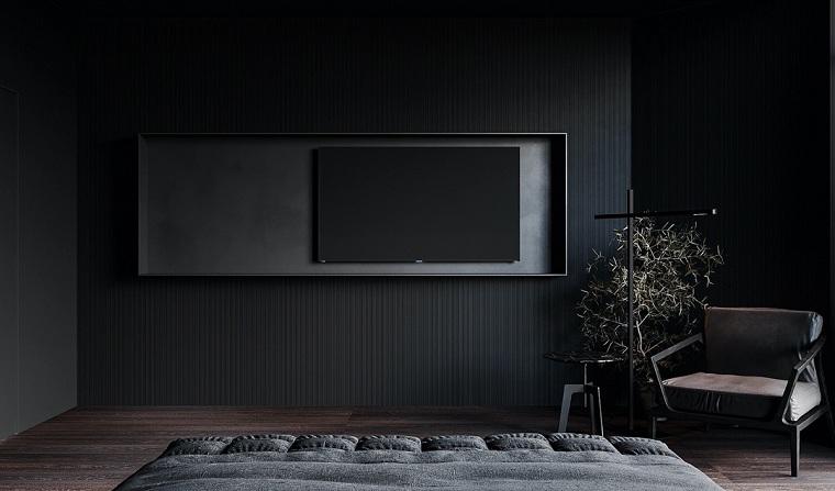 dormitorio-negro-ideas-esquema-color-pared