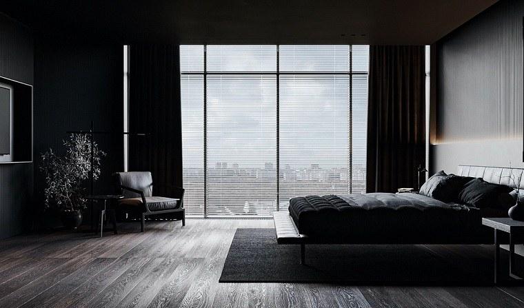 dormitorio-negro-ideas-ventana