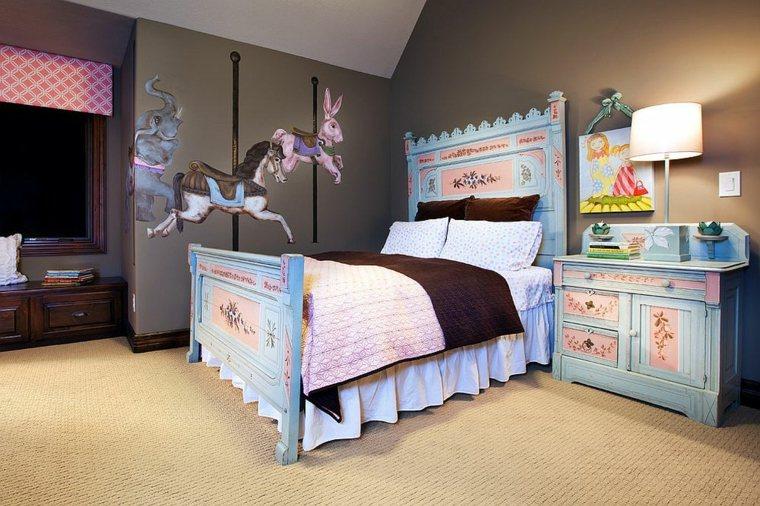Dormitorios shabby chic -ideas-decorar