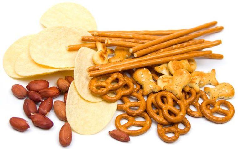 el antojo de sal comida procesada