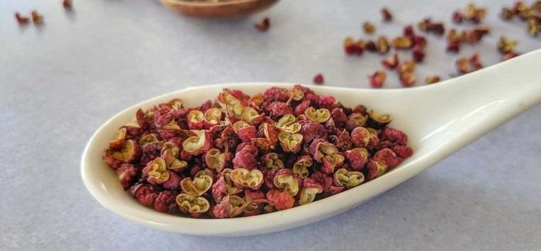 especias chinas pimienta de sichuan