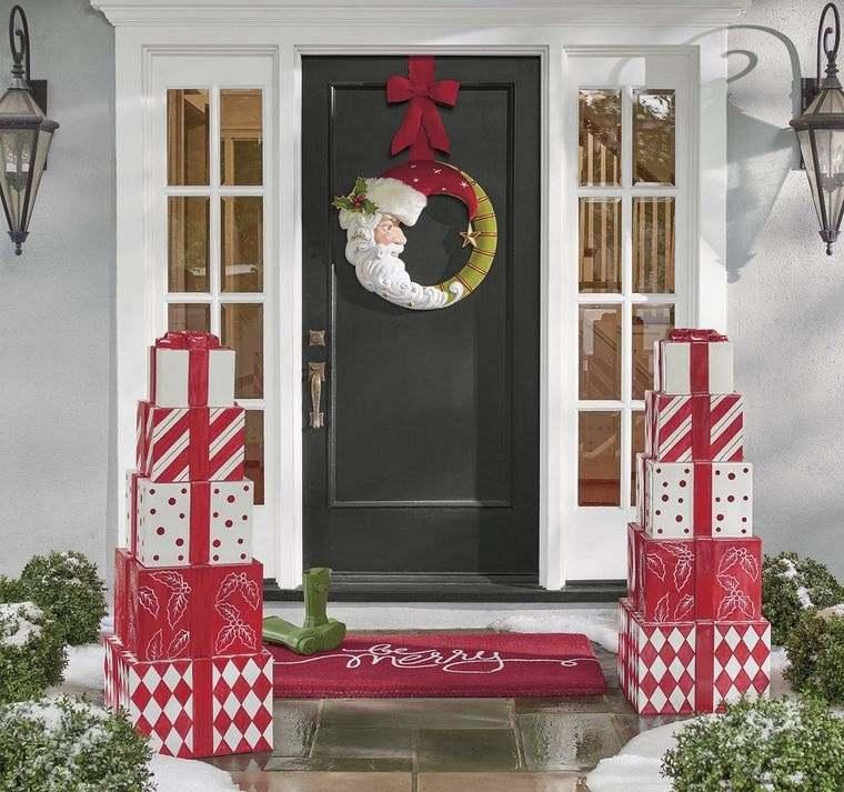 espíritu navideño decoracion exterior bricolaje