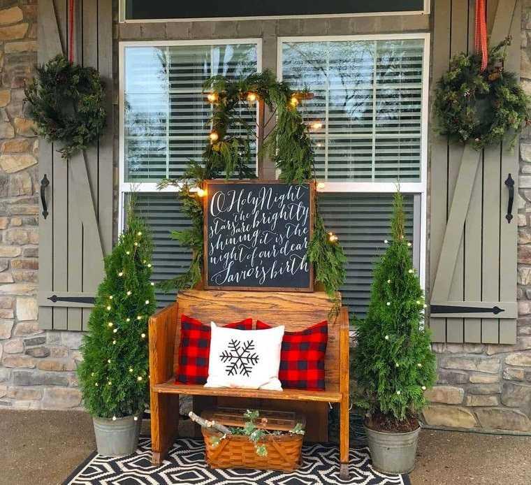 espíritu navideño decoracion exterior navidad