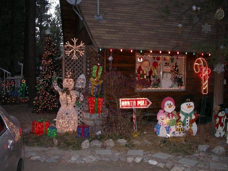 espíritu navideño decoracion exterior