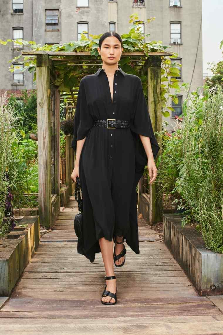 estilo-Michael-Kors-vestido-negro