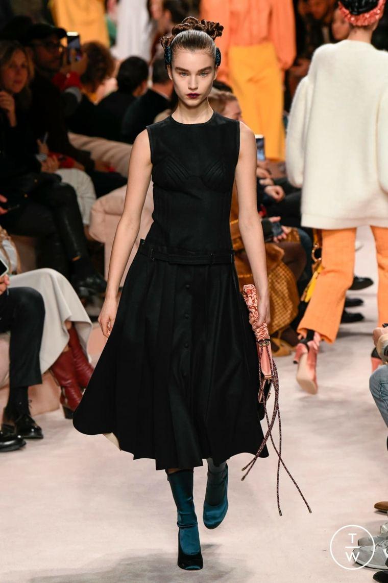 fendi-2020-vestido-negro-estilo