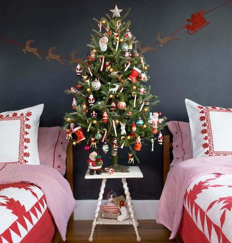 ideas para decorar arbol en dormitorio