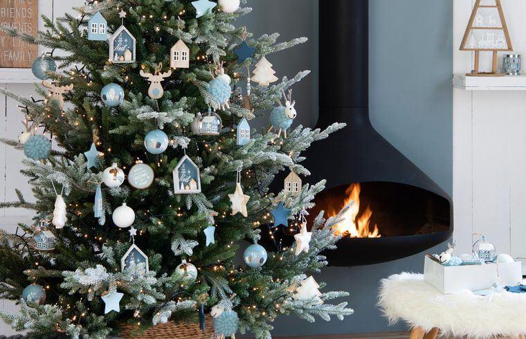 ideas para decorar arbol navidad