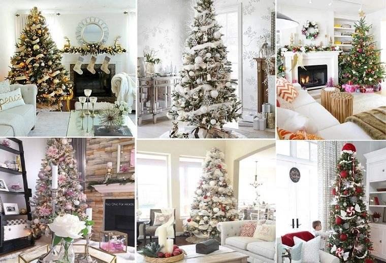 ideas para decorar arbol navideño