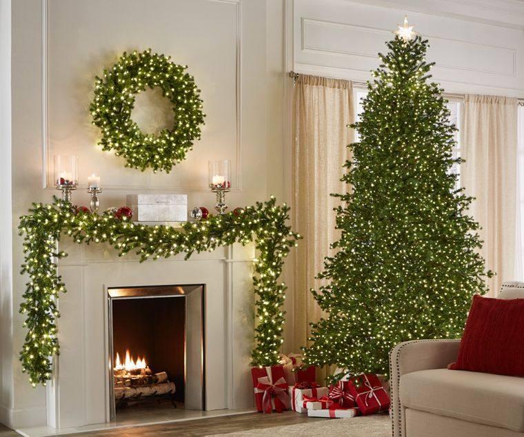 ideas para decorar arbol sencillo elegante