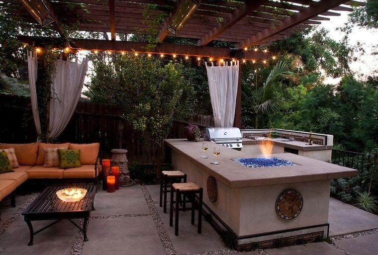 la cocina exterior diseño original