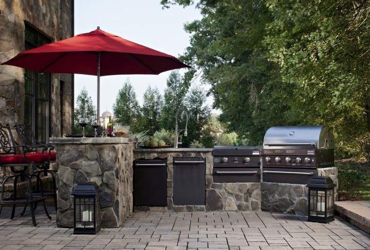 la cocina exterior diseño